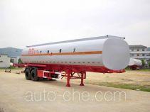 中商汽车牌ZL9350GHY型化工液体运输半挂车