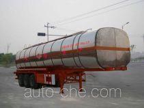 Qulong ZL9380GHY chemical liquid tank trailer
