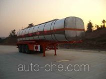 Qulong ZL9400GHY chemical liquid tank trailer