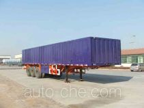 Qulong ZL9400XXY box body van trailer