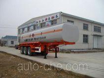 Qulong ZL9401GHY chemical liquid tank trailer