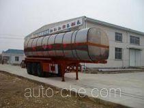 Qulong ZL9402GHY chemical liquid tank trailer