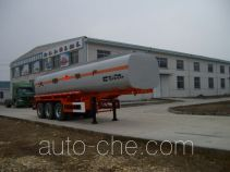 Qulong ZL9403GHY chemical liquid tank trailer