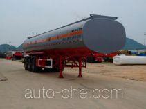 中商汽车牌ZL9405GHY型化工液体运输半挂车