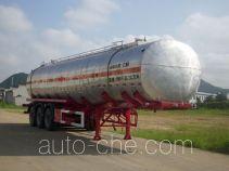 Qulong ZL9406GHY chemical liquid tank trailer