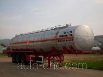 中商汽车牌ZL9406GHY型化工液体运输半挂车