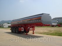 Qulong ZL9407GHY chemical liquid tank trailer