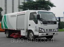 Zoomlion ZLJ5072TSLBEV electric street sweeper truck