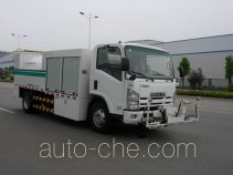 Zoomlion hybrid cleaner truck