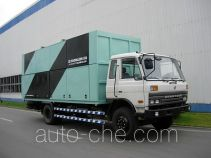 Zhongbiao trash containers transport double deck truck