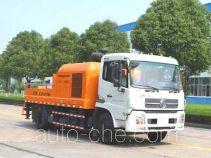 中联牌ZLJ5121THB型车载式混凝土泵车