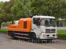 中联牌ZLJ5140THBE型车载式混凝土泵车