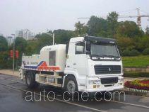 中联牌ZLJ5162THB型车载式混凝土泵车