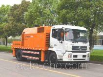 中联牌ZLJ5180THBE型车载式混凝土泵车