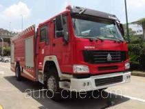 中联牌ZLJ5200GXFPM80型泡沫消防车