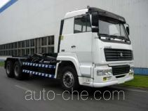 Zhongbiao ZLJ5250ZXX detachable body garbage truck