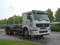 中联牌ZLJ5252ZXXZE4型车厢可卸式垃圾车