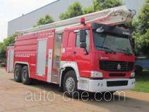中联牌ZLJ5300JXFJP25型举高喷射消防车