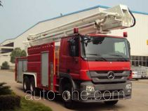 中联牌ZLJ5301JXFJP32型举高喷射消防车