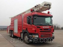 Zoomlion ZLJ5306JXFJP32 high lift pump fire engine