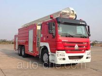 Zoomlion ZLJ5310JXFJP25 high lift pump fire engine