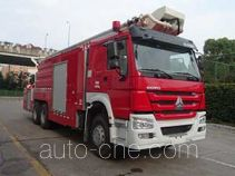 Zoomlion ZLJ5320JXFJP32 high lift pump fire engine