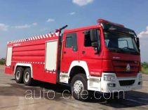 中联牌ZLJ5330GXFPM180型泡沫消防车