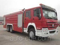 中联牌ZLJ5330GXFSG180型水罐消防车