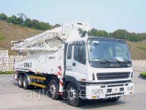 Zoomlion ZLJ5400THBK concrete pump truck