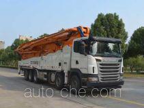 中联牌ZLJ5530THBS型混凝土泵车