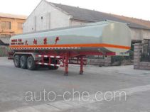 Shuangda ZLQ9401GHY chemical liquid tank trailer