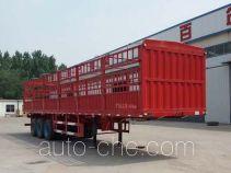 峄州牌ZLT9400CCY型仓栅式运输半挂车