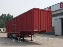 Yizhou ZLT9400XXY box body van trailer