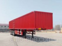 Yizhou ZLT9401XXY box body van trailer