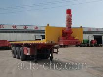 Yizhou flatbed dump trailer