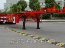 Zhaolong ZLZ9380TJZ container transport skeletal trailer