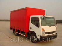 Nissan side curtain van truck