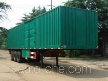 Changqi ZQS9390XXY box body van trailer