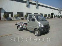 Zhongqi ZQZ5022ZXX detachable body garbage truck