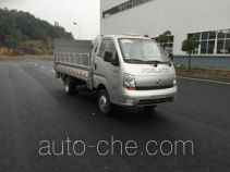Zhongqi trash containers transport double deck truck