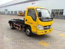 Zhongqi ZQZ5031ZXX detachable body garbage truck
