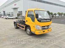 Zhongqi ZQZ5031ZXXF5 detachable body garbage truck