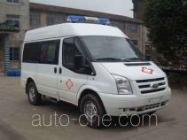 中汽牌ZQZ5039XJH型救护车