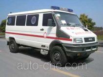 中汽牌ZQZ5040XJH型救护车