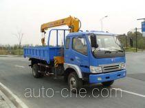 中汽牌ZQZ5100JSQ型随车起重运输车