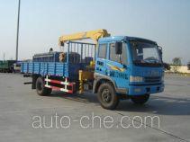 中汽牌ZQZ5120JSQ型随车起重运输车