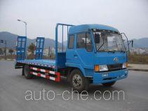 Zhongqi ZQZ5141TPB special flatbed truck