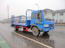 中汽牌ZQZ5142TPB型平板运输车