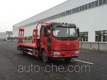 中汽牌ZQZ5161TPB型平板运输车