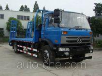 中汽牌ZQZ5162TPB型平板运输车